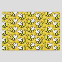 Honeybee cartoon tissue paper