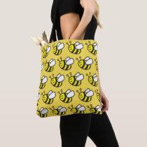 Honeybee Cartoon Tote Bag