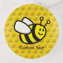 Honeybee Cartoon Trinket Tray