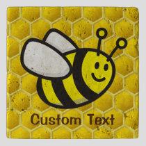 Honeybee Cartoon Trivet