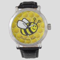 Honeybee Cartoon Watch