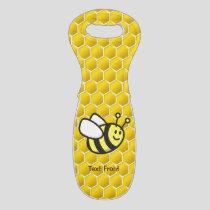 Honeybee Cartoon Wine Bag