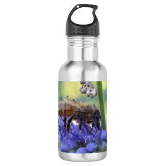 Honeybee Drinking Nectar Stainless Steel Water Bottle