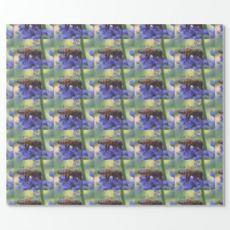 Honeybee Drinking Nectar Wrapping Paper