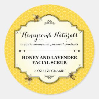 Honeybee Handmade Classic Round Sticker