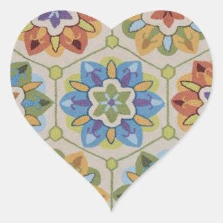 HoneyBee Heart Sticker