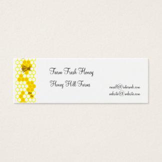 Honeybee Honeycomb Custom Business Tags