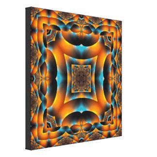 Honeybee Kaleidoscope Canvas Print