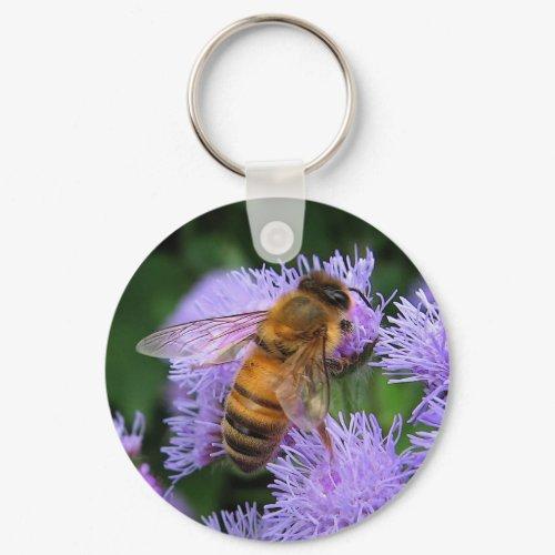 Honeybee Keychain keychain