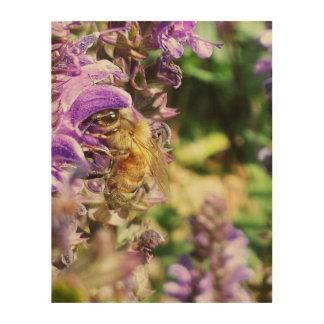 Honeybee Life Wood Wall Art
