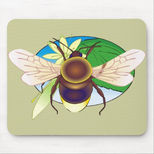 Honeybee Mouse Pad