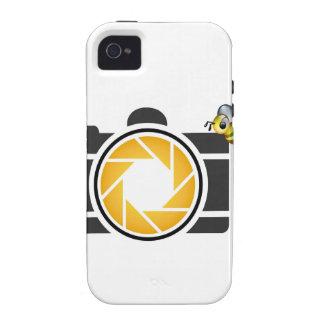 Honeybee on a Digital camera Vibe iPhone 4 Cases
