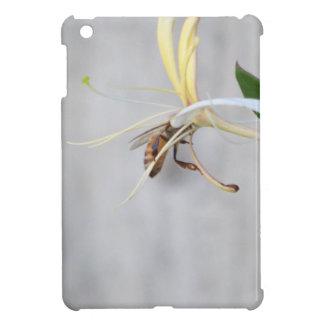 Honeybee on Honeysuckle iPad Mini Covers