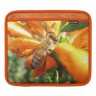 Honeybee on Lion's Tail Flower iPad Sleeve