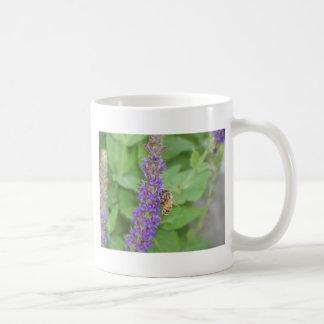 Honeybee on Salvia Officinalis Coffee Mug