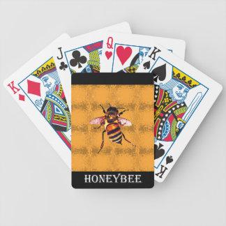Honeybee Bicycle Poker Deck