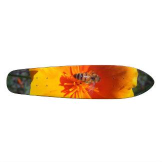Honeybee Poppy Skateboard