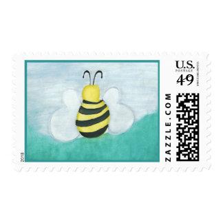 Honeybee Postage Stamps