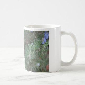 Honeybee with Rosemary Classic White Coffee Mug