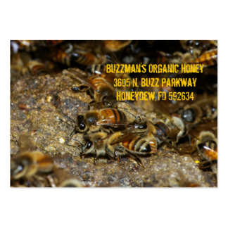 Honeybees at work large business card