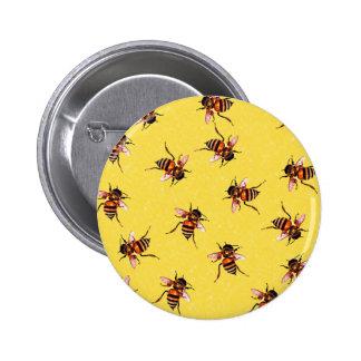 Honeybees Pinback Button