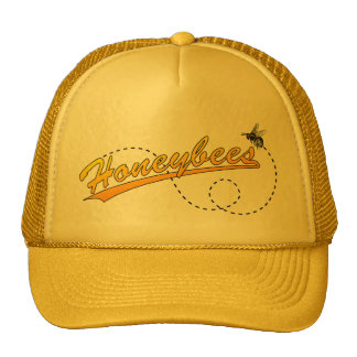 Honeybees Cap Trucker Hat