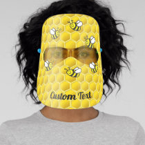 Honeybees Face Shield