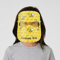 Honeybees Kids' Face Shield