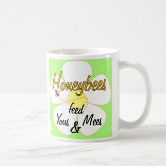 Honeybees feed Yous & Mees - Mug