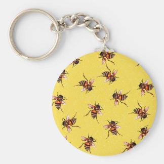 Honeybees Key Chain