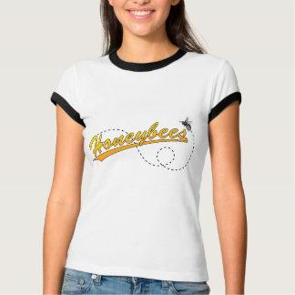 Honeybees Ladies Ringer T-Shirt