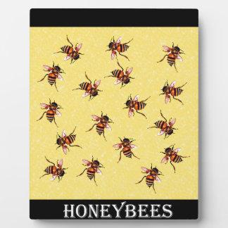 Honeybees Photo Plaques