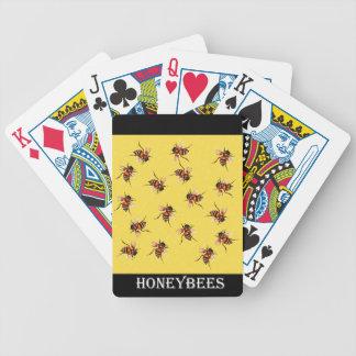 Honeybees Bicycle Card Deck