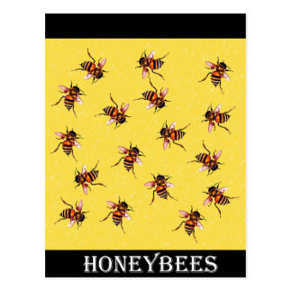 Honeybees Post Card