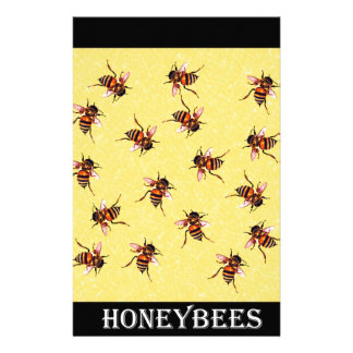 Honeybees Personalized Stationery
