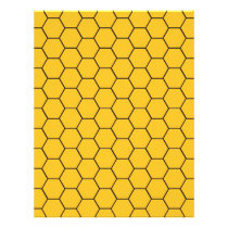 Honeycomb Baby Scrapbook Paper