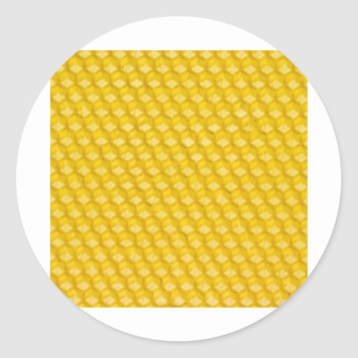 Honeycomb Background Gifts Sticker