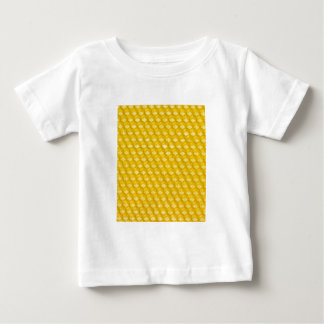 Honeycomb Background Gifts Template Baby T-Shirt
