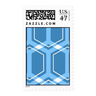 Honeycomb (Blue) Stamp