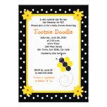 Honeycomb Bumble Bee 5x7 Baby Shower Invitation