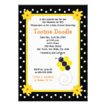 Honeycomb Bumble Bee 5x7 Baby Shower Invitation