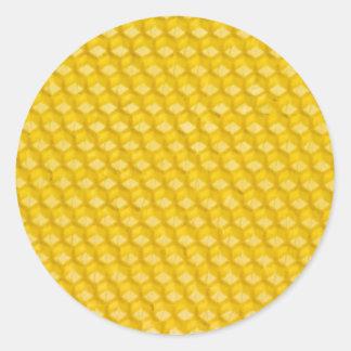 Honeycomb Classic Round Sticker