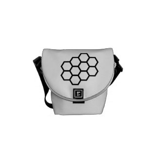Honeycomb Courier Bag