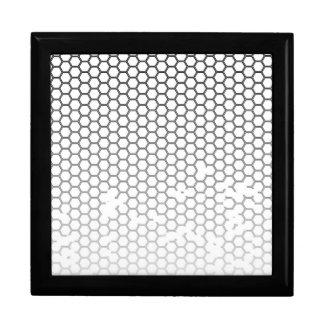 Honeycomb Grunge Jewelry Box
