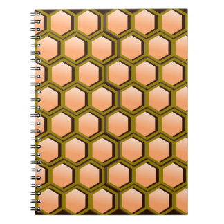 Honeycomb Image Notebook