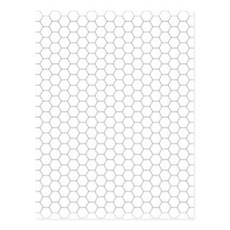 Honeycomb Image Postcard