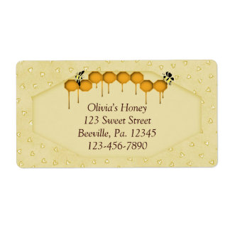 Honeycomb Label Shipping Label