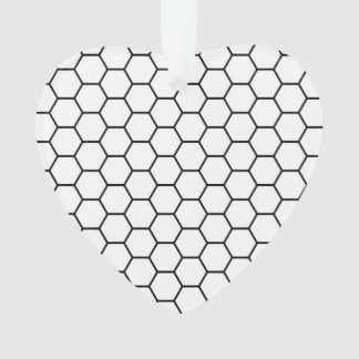 Honeycomb Mesh Pattern Ornament