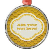 Honeycomb Metal Ornament