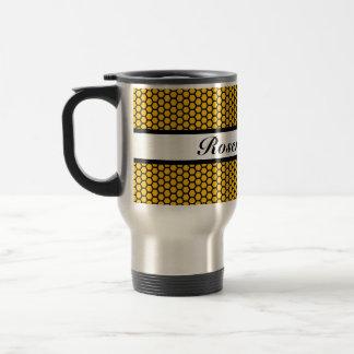 Honeycomb 15 Oz Stainless Steel Travel Mug